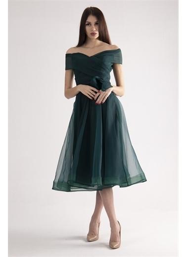 Belamore  Abiye & Mezuniyet Elbisesi Yeşil
